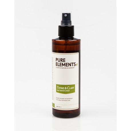 Thym & clary spray d'eau salée